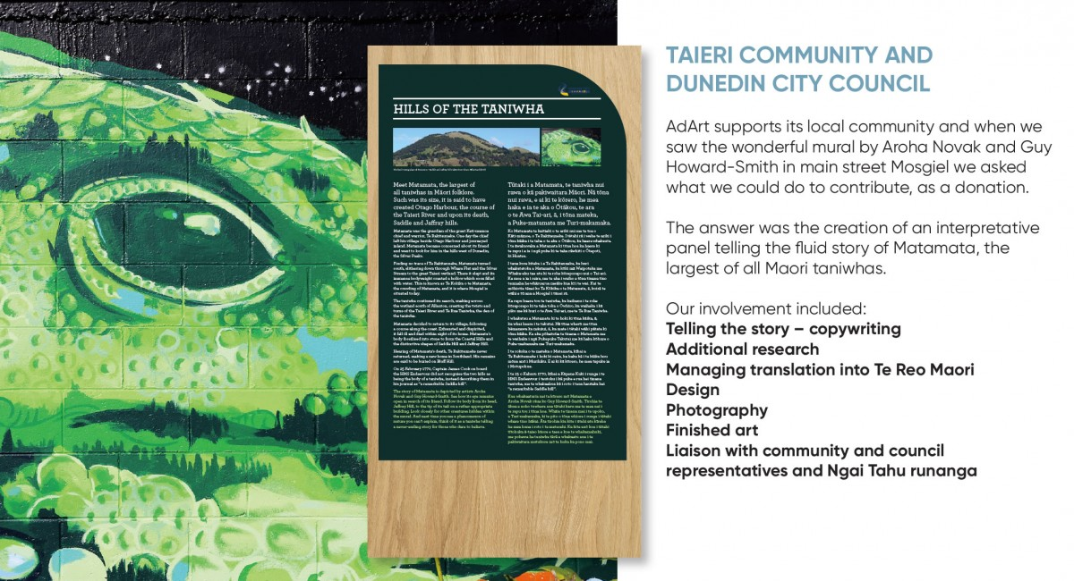 Taieri Community and Dunedin City Council