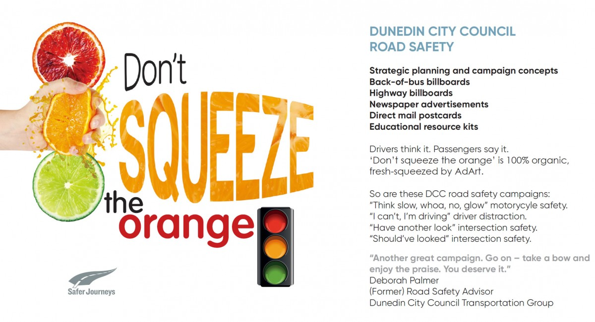 Dunedin City Council Road Safety